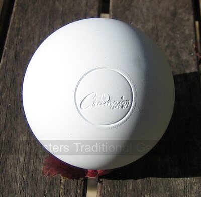 Pair of balls for Bat and Trap or Lacrosse