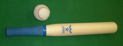 Willow Rounders Bat with Leather Ball