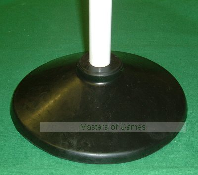 Set of 4 plastic Rounders posts with rubber bases