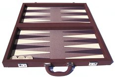 Tournament Size Backgammon Sets Without Disk Storage