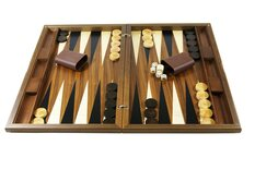 Connoisseur Backgammon Sets with Disk Storage