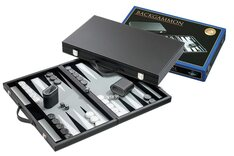Backgammon Case (18.5 inch) with Grey Surface