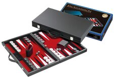 Backgammon Briefcase Set with Felt Playing Surface