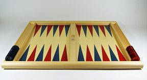 Dal Negro Skiathos Tournament Backgammon Set