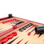 Crisloid Anchor Red Tournament Attaché Backgammon Set