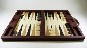 Dal Negro Brown Case Backgammon