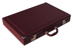 Dal Negro Bordeaux Pro Tournament 21-inch Backgammon Set