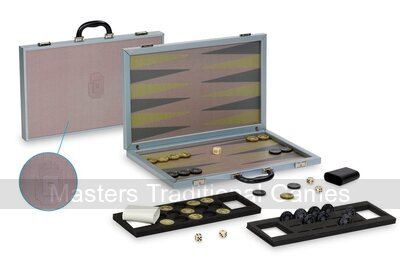 Dal Negro Composite Fibre Backgammon Case - Red