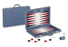 Dal Negro Prestige Backgammon Case - Blue