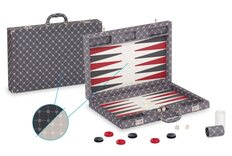 Dal Negro Prestige Backgammon Case - Grey