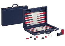 Dal Negro Valigia Blue Pro Backgammon Set
