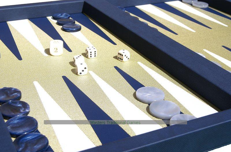 Case Blue Board Game : Dal negro elite blue backgammon case composite fibre board