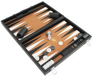 Italfama Black Leatherette Tournament Backgammon Case