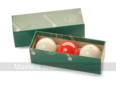 Set of Aramith Billiard Balls (with Spot White, 2 & 1/16 inch, 52.5mm)