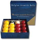 Upgrade to Pro Cup Pool balls (2 inch with 1 & 7/8 inch cue ball for coin-op tables)