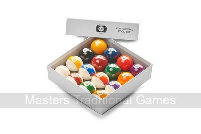 Aramith Screen Printed Pool Balls - 2 inch - Spots & Stripes