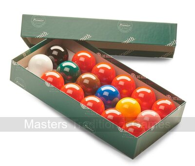 Aramith Snooker Balls (2 inch, 51mm, with 10 reds)