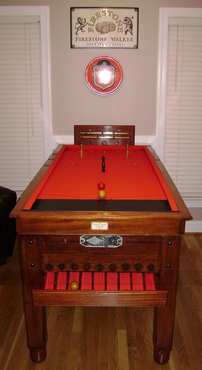 Bar Billiards Table - reconditioned to order