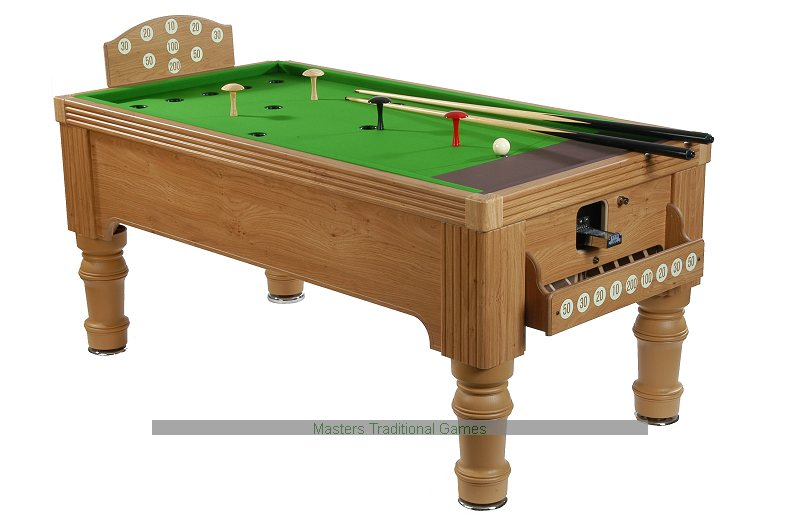 Supreme Bar Billiards Table Oak Or Walnut Finish Available - Valley bar pool table for sale