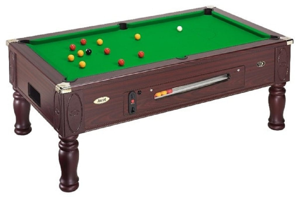 DPT Ascot Coin Operated Pool Table | 6ft & 7ft | Free Delivery