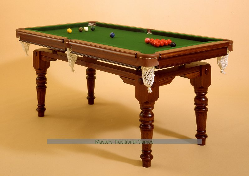 Hand Made, Dual Height Snooker Dining Table   6ft, Mahogany, With