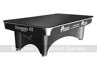 Dynamic III 7ft Pool Table - Brown