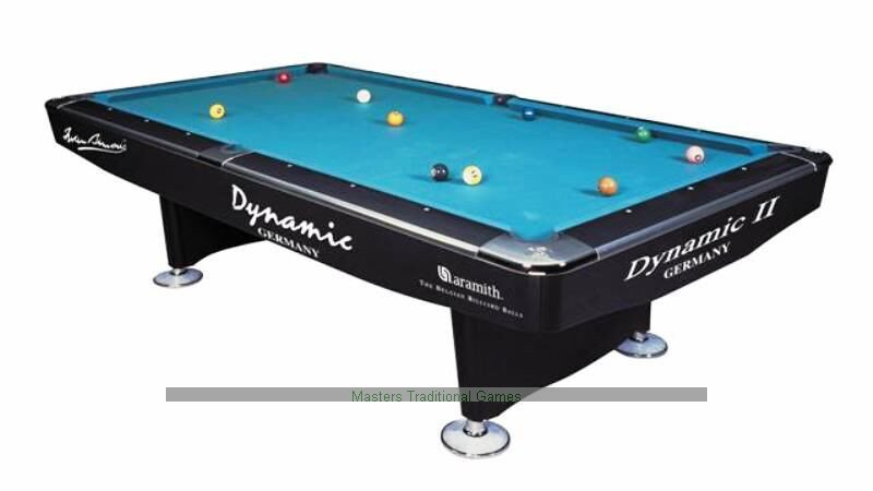 Etonnant Dynamic II 9ft Pool Table   Black