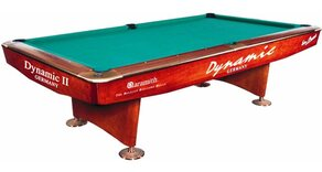 Dynamic II 9ft Pool Table - Black