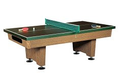 Dynamic Eliminator 7ft Oak Pool Table with Table Tennis Top