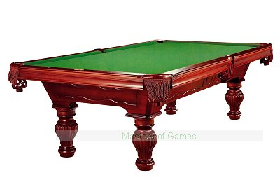 Dynamic Empire 8ft Pool Table - Mahogany