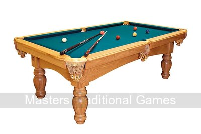 Dynamic Kiev 7ft Mahogany Pool Table