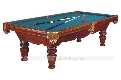 Dynamic Las Vegas 8ft Pool Table - Antique Brown