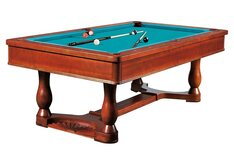 Dynamic Renaissance 8ft Pool Table - Antique Brown