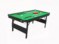 Gamesson 6ft Crucible Snooker Table - Folding Legs