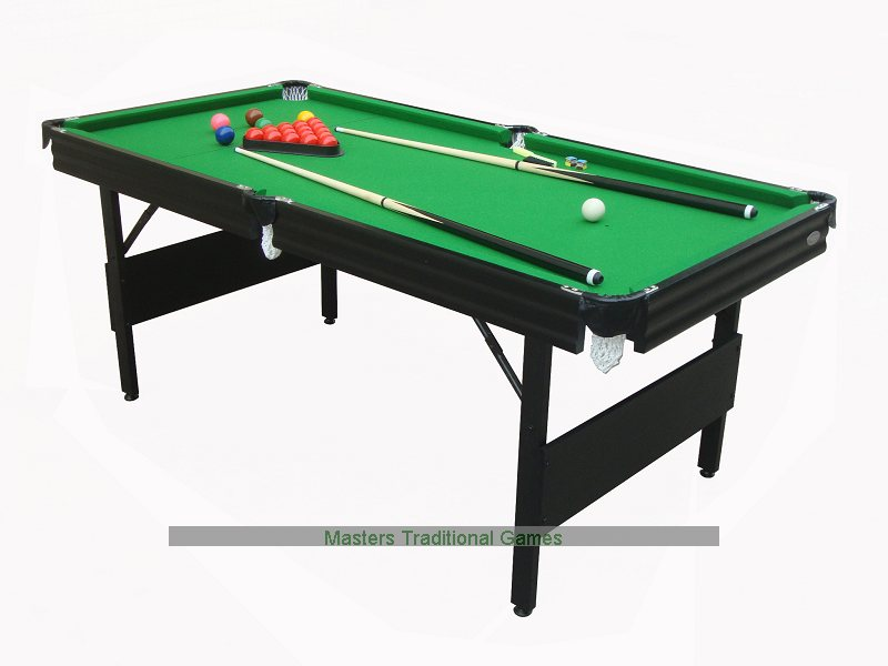 Gamesson 6ft Crucible Snooker Table Folding Legs