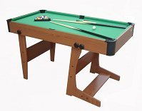 Gamesson Eton Folding Pool Table (4ft 6, L-foot design)
