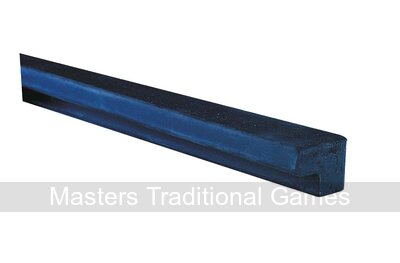 Hainsworth 5/8 inch Northern Championship quality L-shaped rubber (6 x 6 feet lengths primarily for 7 or 8 foot English Pool tables)