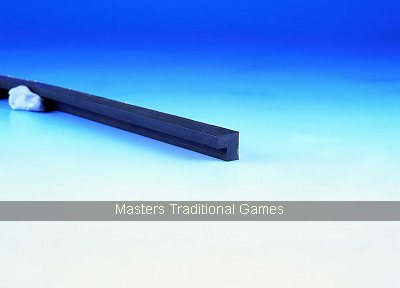 Hainsworth 5/8 inch Northern Championship quality L-shaped rubber for Bar Billiards table (3 x 6 feet lengths)