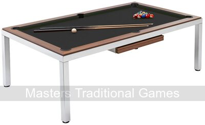 Mightymast Cube 8ft Slate Bed Pool Diner Table