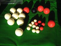 Buy Old English Bagatelle balls