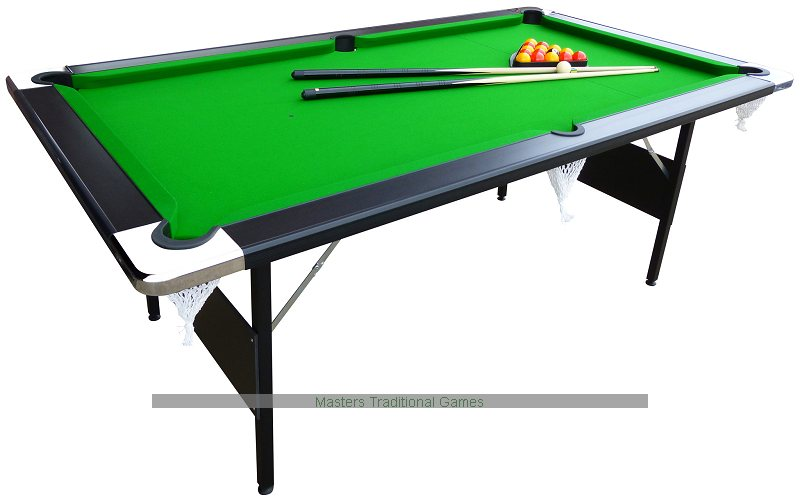 Ft Hustler Foldup Pool Table Foldable Pool Table - How big is a full size pool table