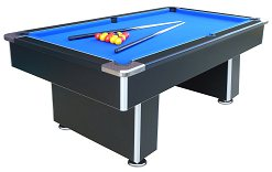 7ft Speedster Slate Bed Pool Table - Black