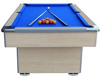 Mightymast 7ft Speedster Slate Bed Pool Table - Beech