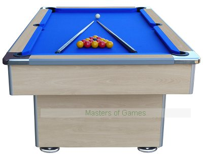 7ft Speedster Slate Bed Pool Table - Beech