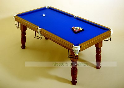 Traditional English Pool Table - 6ft slate bed