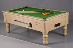 Supreme Prince Pool Table 6/7/8ft - Mechanical Coin-Op