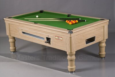 Supreme Prince Pool Table & Accessories - 6ft Electronic Coin-Op