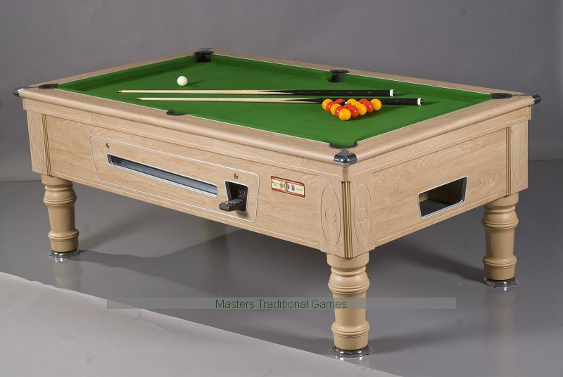 supreme prince pool table electronic coin operated pool
