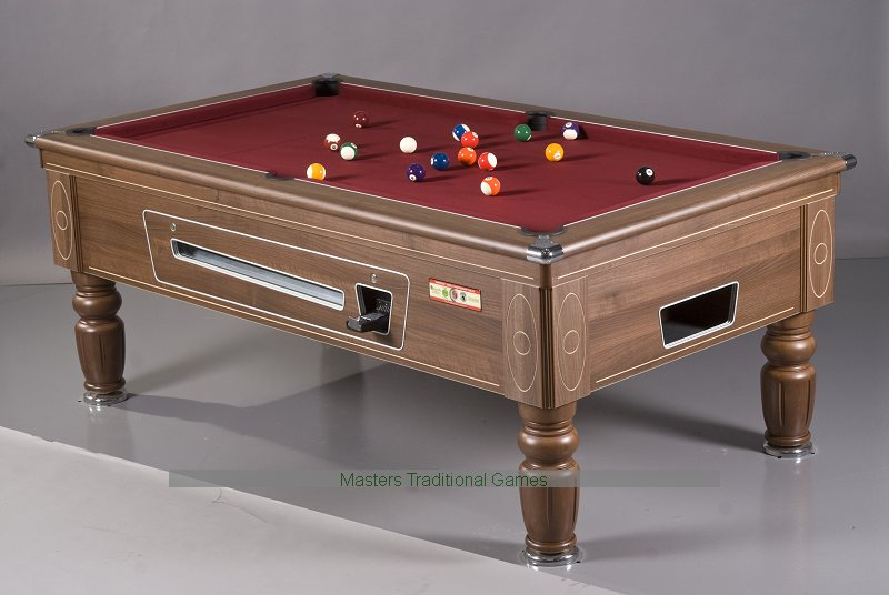 Supreme Prince Pool Table 6/7/8ft   Electronic Coin Op