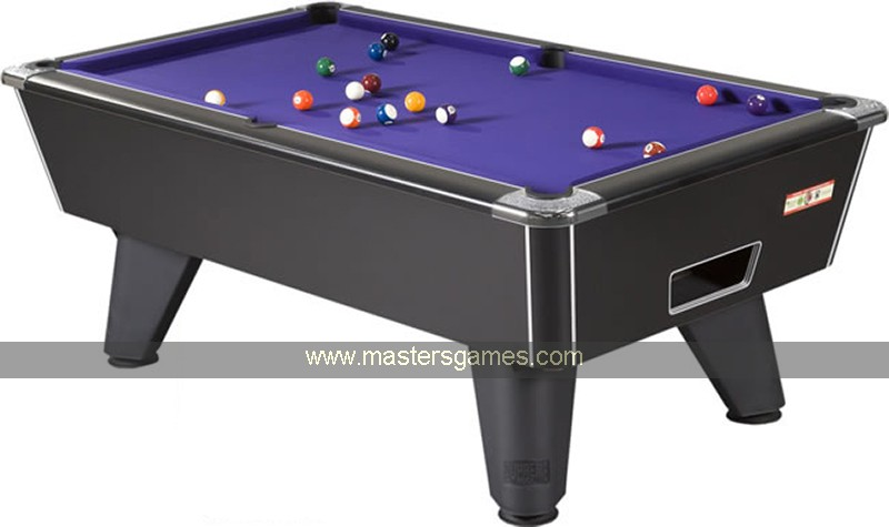 Supreme winner pool table coin operated pool tables for Supreme 99 table game